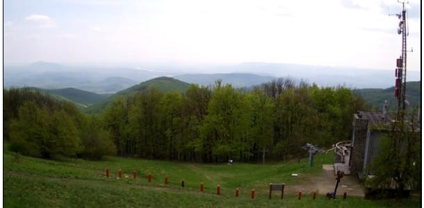 Új élő videókép a Nagy Hideg-hegyről